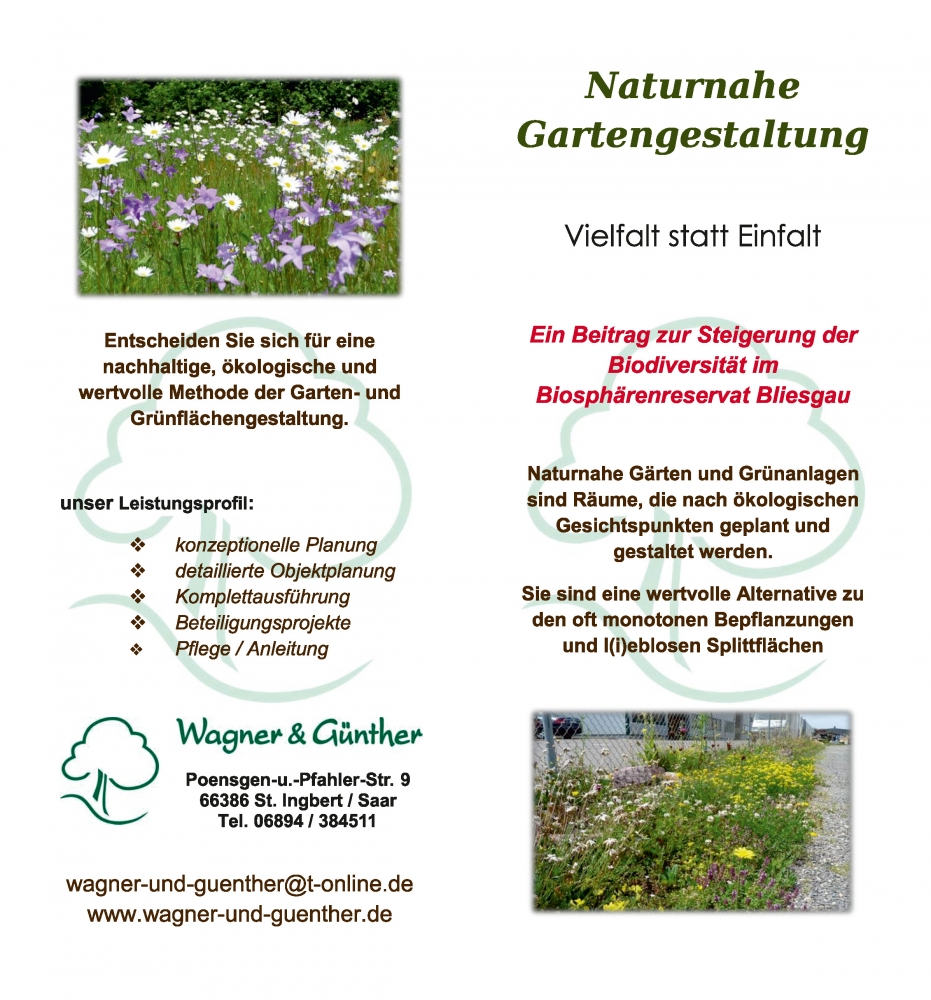 galabau wagner & günther :::, Garten und Bauten